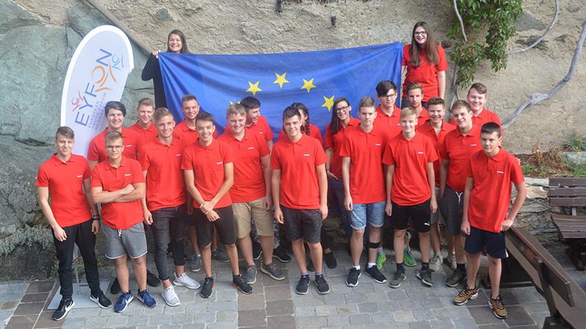 EYFON Lehrlingstage vom 16. – 19.09.2019 auf Burg Forchtenstein