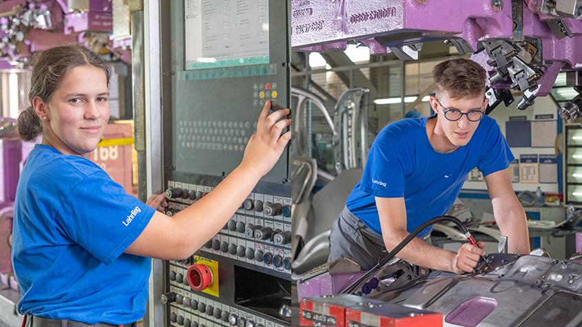 Was steckt hinter einer Werkzeugbautechnik-Lehre? - Carina & Florian verraten es!